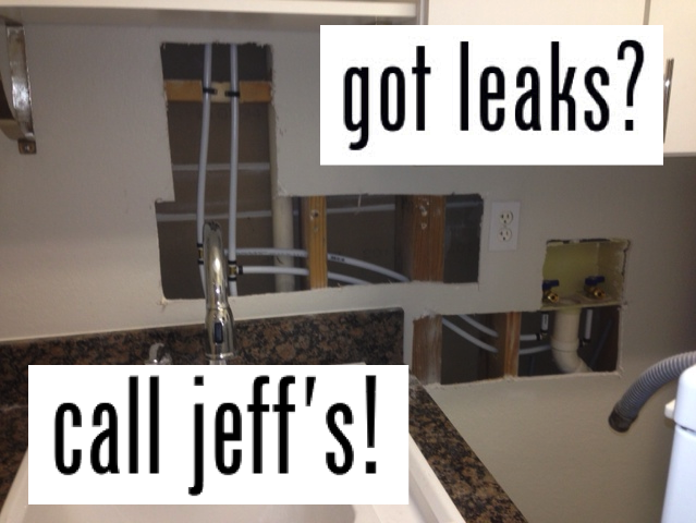 Got Leaks? Call Jeff's Your Orlando Repipe Expert